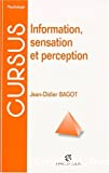 Information sensation et perception