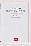 l'Analyse institutionnelle
