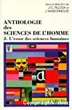 Anthologie des sciences de l'homme