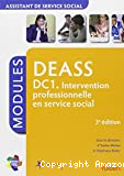 DEASS DC1. Intervention professionnelle en service social DEASS