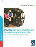 Développer les compétences sociales des adolescents par des ateliers de parole